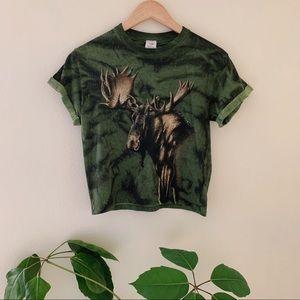 Tops - Moose Crop Top
